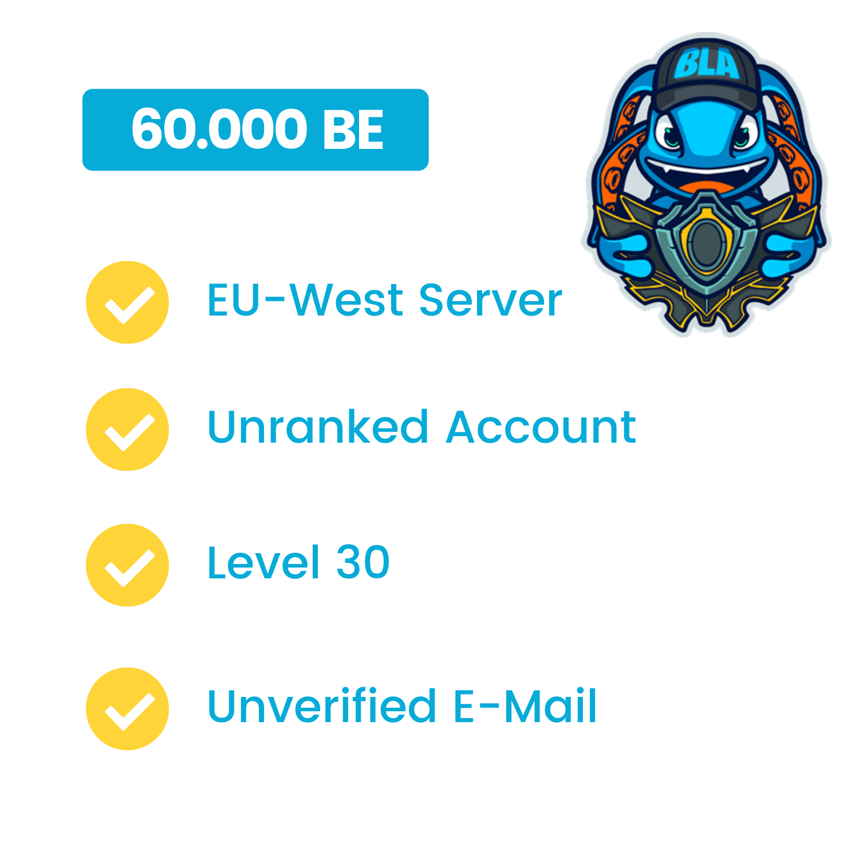 LoL Account Smurf 60.000-min